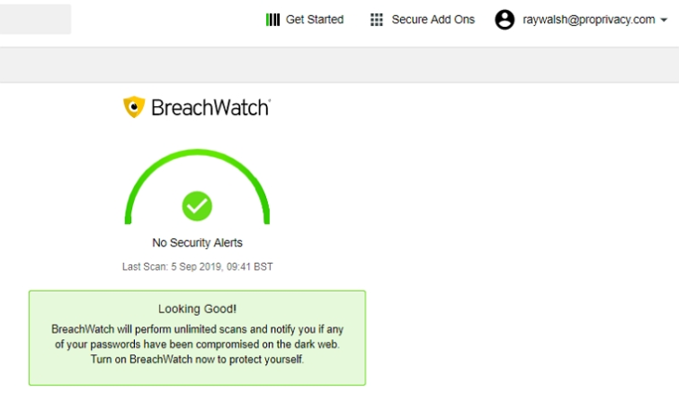 keeper's breach watch tool
