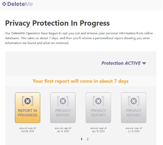 Privacy protection in progress