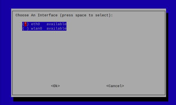 choose an interface