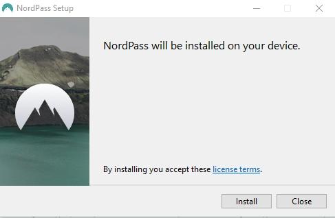 NordPass Install