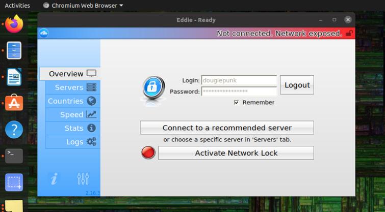 AirVPN Linux client