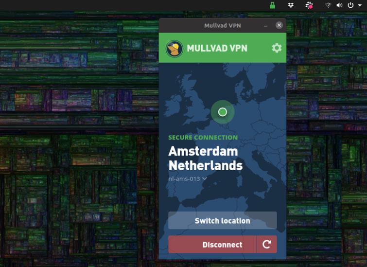 Mullvad Linux VPN