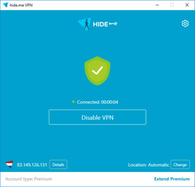 hide.me vpn client