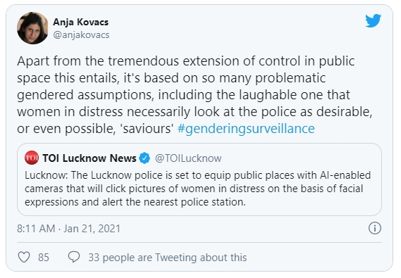 Anja Kovacs Tweet