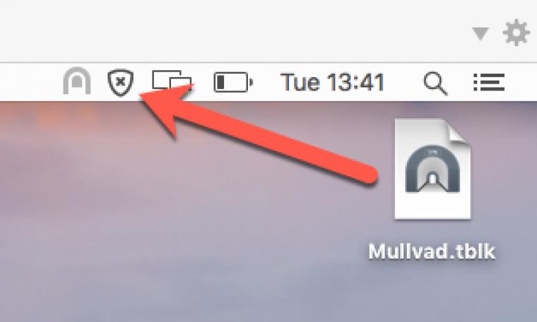 tunnelblick icon on desktop